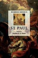 The Cambridge Companion to St Paul Paperback