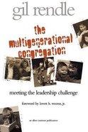 The Multigenerational Congregation Paperback