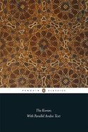 The Koran With Parallel Arabic Text (Penguin Black Classics Series) Paperback