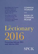 The Lectionary 2016
