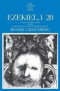 Ezekiel 1-20 (Anchor Yale Bible Commentaries Series)