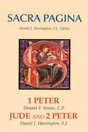 1 and 2 Peter and Jude (#15 in Sacra Pagina Series) Hardback