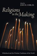 Religions in the Making Paperback