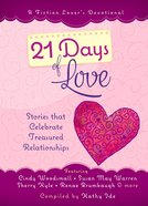 A Fiction Lover's Devotional: 21 Days of Love Hardback
