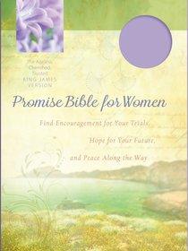 KJV Promise Bible For Women Lavendar