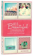 Notebook Set: Life is Beautiful (3x Notebooks)