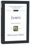 James (Tyndale New Testament Commentary (2020 Edition) Series) Pb Large Format