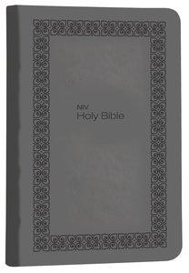 NIV Super Value Compact Bible Charcoal