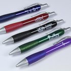 Metallic-Coloured Pen in Assorted Colors With Rubber Grip & Scripture