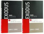 Exodus 2-Pack Paperback (2 Vols) (Evangelical Press Study Commentary Series) Pack