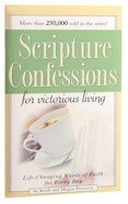 Scripture Confessions For Victorious Living Booklet