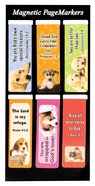 Bookmark Magnetic: Puppies #01 (Set Of 6) Stationery