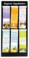 Bookmark Magnetic: Puppies #02 (Set Of 6) Stationery