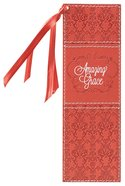 Bookmark Luxleather Tassel: Amazing Grace, Orange Stationery