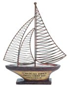 Sailing Boat: I Can Do All Things.... Homeware