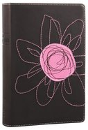 NIV True Images Bible Teen Girls Pink Flower Duo-Tone Imitation Leather