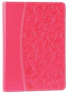 NIV Essentials Study Bible Honeysuckle Pink Premium Imitation Leather