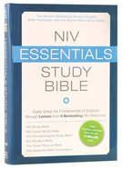 NIV Essentials Study Bible Hardback