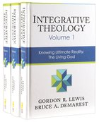 Integrative Theology 3-Pack (3 Vols Set) Pack