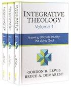 Integrative Theology 3-Pack (3 Vols Set) Pack
