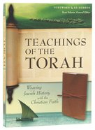 NIV Teachings of the Torah Weaving Jewish History With the Christian Faith (Black Letter Edition) Imitation Leather