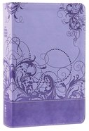 NIV Teen Study Bible Spring Violet (Black Letter Edition) Premium Imitation Leather