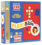 NIV Flexi Bible Red Glow in the Dark (Red Letter Edition) Imitation Leather