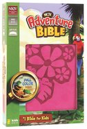 NKJV Adventure Bible Pink (Black Letter Edition) Premium Imitation Leather
