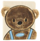 Tiny Bear's Bible Blue (Faux-fur) Board Book