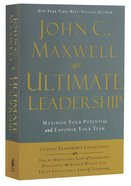 Maxwell 3-In-1: Ultimate Leadership