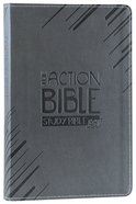ESV Action Study Bible Gray Premium Imitation Leather