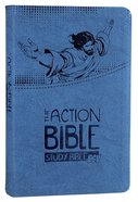 ESV Action Study Bible Blue Premium Imitation Leather