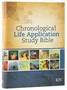 KJV Chronological Life Application Study Bible (Black Letter Edition) Hardback