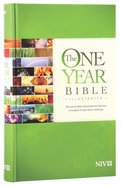 NIV One Year Bible Illustrated (Black Letter Edition) Hardback