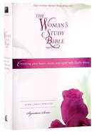 KJV Woman's Study Bible Multi-Colour Hardback