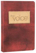 The Voice Bible Burgundy Premium Imitation Leather