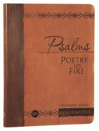 Psalms Poetry on Fire (Devotional Journal) Imitation Leather