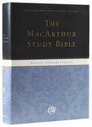 ESV Macarthur Study Bible (Black Letter Edition)