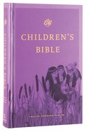ESV Children's Bible Purple Hardback