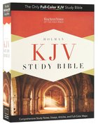 KJV Holman Study Bible Mantova Black Premium Imitation Leather