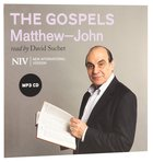 NIV Holy Bible: The Gospels MP3 Audio (Read By David Suchet) (Matthew-john) CD