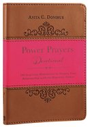 Power Prayers Devotional Imitation Leather