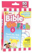 Flash Cards: Bible Go Fish (Age 5+) (Pk 50) Pack