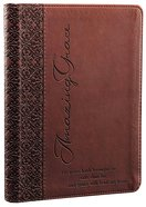 Classic Journal: Amazing Grace Brown Luxleather Imitation Leather