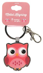 Metal Keyring Owl: Wisdom For the Soul