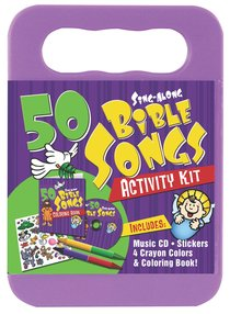 50 Sing-Along Bible Songs (Cd And Activity Set)