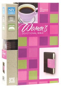 NIV Womens Devotional Bible Compact Chocolate/Orchid