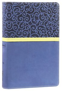 NIV Womens Devotional Bible Compact Blueberry (Black Letter Edition)