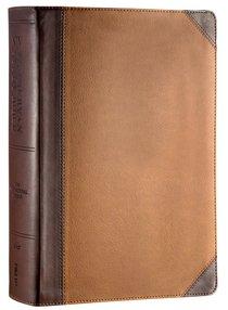 NIV Zondervan Study Bible Full Colour Large Print Chocolate Caramel