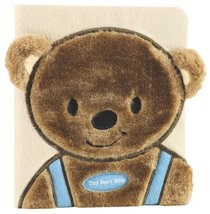 Tiny Bears Bible Blue (Faux-fur)